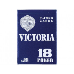 Baraja fournier poker ingles y bridge 1855