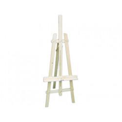 Caballete pintor madera 165 cm con brazo extensible