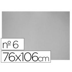 Carton gris nº 6 76x106 cm hoja