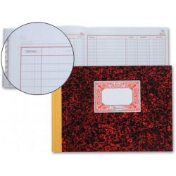 Libro miquelrius cartone 3086 cuarto apaisado 100 hojas cuentas corrientes