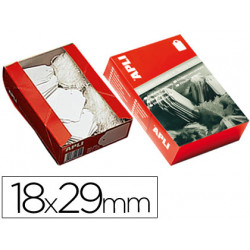 Etiquetas colgantes 389 18 x 29 mm caja de 1000