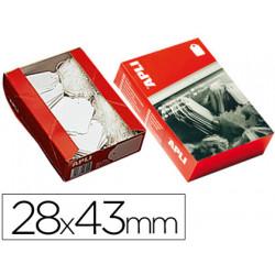 Etiquetas colgantes 391 28 x 43 mm caja de 500