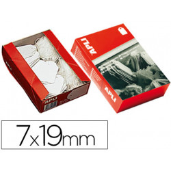 Etiquetas colgantes 383 7 x 19 mm caja de 1000