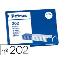 Grapas petrus bambina nº 202 caja de 1000 grapas