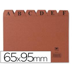 Indice fichero carton nº 1 tamaño 65x95