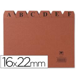 Indice fichero carton nº 5 tamaño 16x22