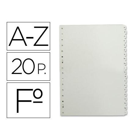 Separador alfabetico multifin plastico 3005