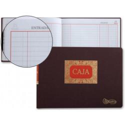 Libro miquelrius folio apaisado 100 hojas caja entrada y salida