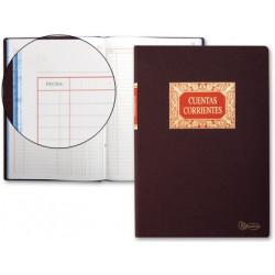 Libro miquelrius folio 100 h cuentas corrientes debe haber y saldo