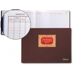 Libro miquelrius n 61 folio 100 hojas ingresos y gastos