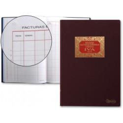 Libro miquelrius n 64 folio 100 hojas facturas emitidas