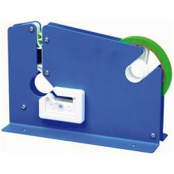 Maquina qconnect cierra bolsa metalica pintada azul
