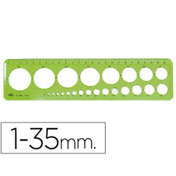 Plantilla circulos de 35 mm