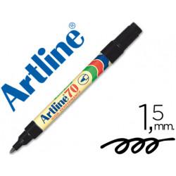 Rotulador artline marcador permanente ek70 negro punta redonda 15 mm pa