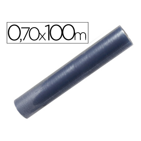Rollo plastico forralibros 070x100 mt
