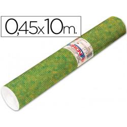 Rollo adhesivo aironfix especial ante verde oscuro 67801 rollo de 10 mt