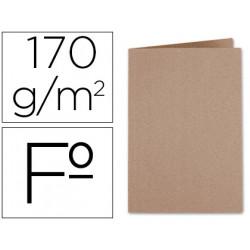 Subcarpeta kraft liderpapel folio 170 g/m2