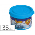 Tempera jovi 35 ml azul cyan