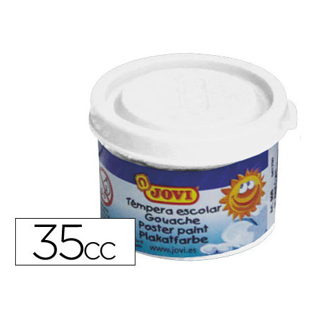 Tempera jovi 35 ml blanco