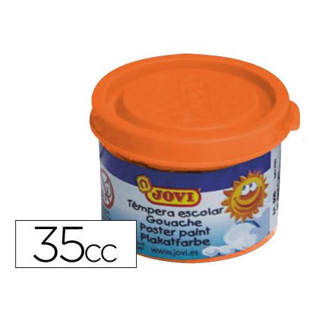 Tempera jovi 35 ml naranja
