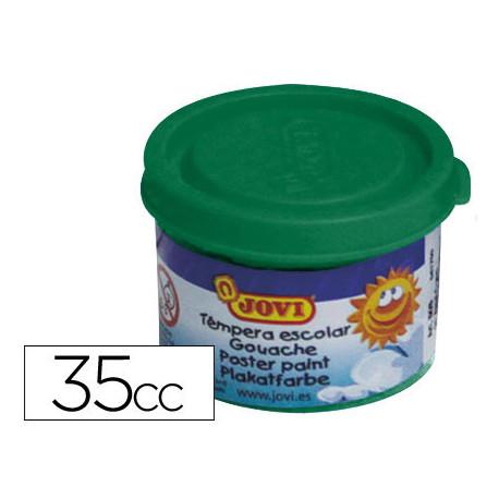 Tempera jovi 35 ml verde oscuro
