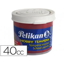 Tempera hobby 40 cc carmin n34