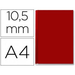Tapa de encuadernacion channel rigida 35574 burdeos lomo b capacidad 71/105