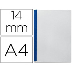 Tapa de encuadernacion channel flexible 35557 azul lomo c capacidad 106/140