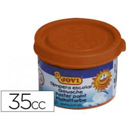 Tempera jovi 35 ml marron