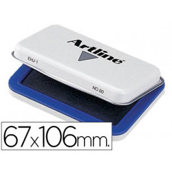 Tampon artline nº 1 azul 67x106 mm