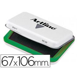 Tampon artline nº 1 verde 67x106 mm