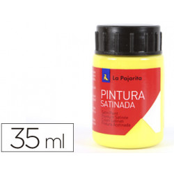 Pintura latex la pajarita amarillo limon 35 ml