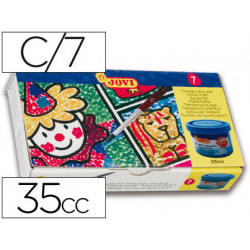 Tempera jovi 35 cc 7 colores surtidos