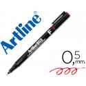 Rotulador artline retroproyeccion punta fibra permanente ek853 rojo punta