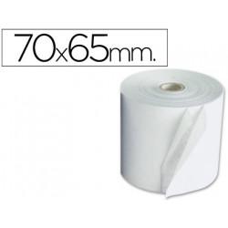 Rollo sumadora electro 70 mm ancho x 65 mm diametro