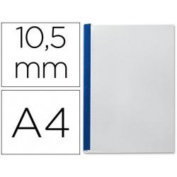 Tapa de encuadernacion channel flexible 35552 azul lomo b capacidad 71/105
