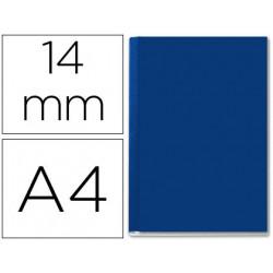 Tapa de encuadernacion channel rigida 35577 azul lomo c cpacidad 106/140 ho