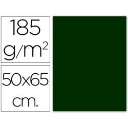 Cartulina guarro verde amazona 50x65 cm 185 gr