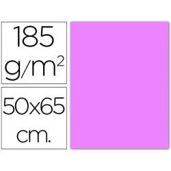Cartulina guarro lila 50x65 cm 185 gr