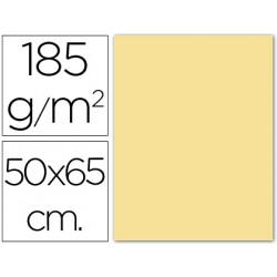 Cartulina guarro crema 50x65 cm 185 gr