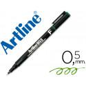 Rotulador artline retroproyeccion punta fibra permanente ek853 verde punt
