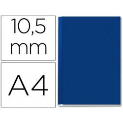 Tapa de encuadernacion channel rigida 35572 azul lomo b capacidad 71/105 ho