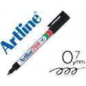 Rotulador artline marcador permanente ek700 negro punta redonda 07 mm p