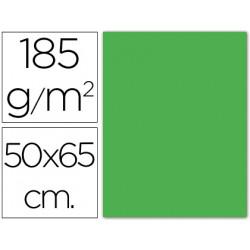 Cartulina guarro verde manzana 50x65 cm 185 gr