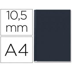 Tapa de encuadernacion channel rigida 35570 negra lomo b capacidad 71/105 h