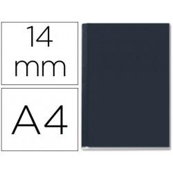 Tapa de encuadernacion channel rigida 35575 negra lomo c capacidad 106/140