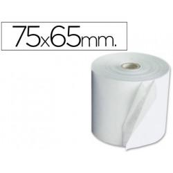 Rollo sumadora electro 75 mm ancho x 65 mm diametro