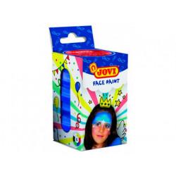 Crema maquillaje jovi face paint caja de 6 botes colores surtidos 8 ml