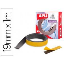 Cinta adhesiva apli magnetica 19mm x 1m