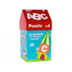Puzzle apli abecedario casita 40 piezas